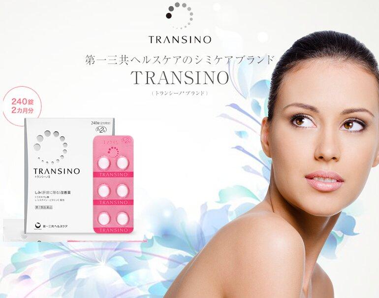 Transino whitening – Viên uống trị nám tàn nhang hàng đầu tại Nhật Bản