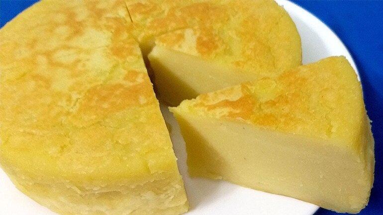 Bánh đậu xanh nướng