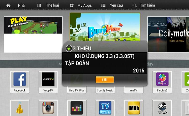 tải ứng dụng ngoài APK trên tivi TCL