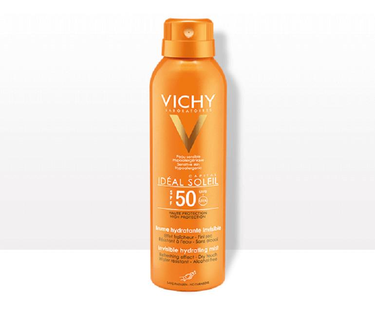 Kem chống nắng toàn thân Vichy Ideal Soleil Invisible Hydrating Mist