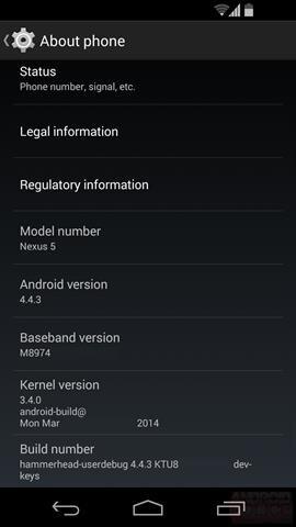 T-Mobile tung ra bản cập nhật Android 4.4.3 cho Nexus 4, 5 và 7