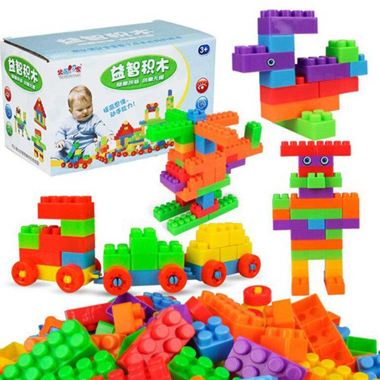 Đồ chơi Lego lắp ráp đa năng rất an toàn