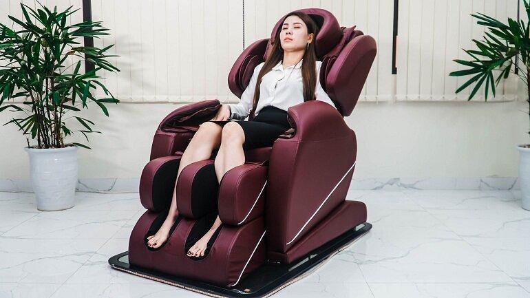 Máy massage ngày càng được nhiều người sử dụng