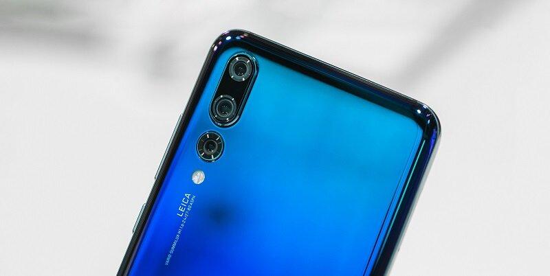 Huawei P30 được thiết kế với 3 camera