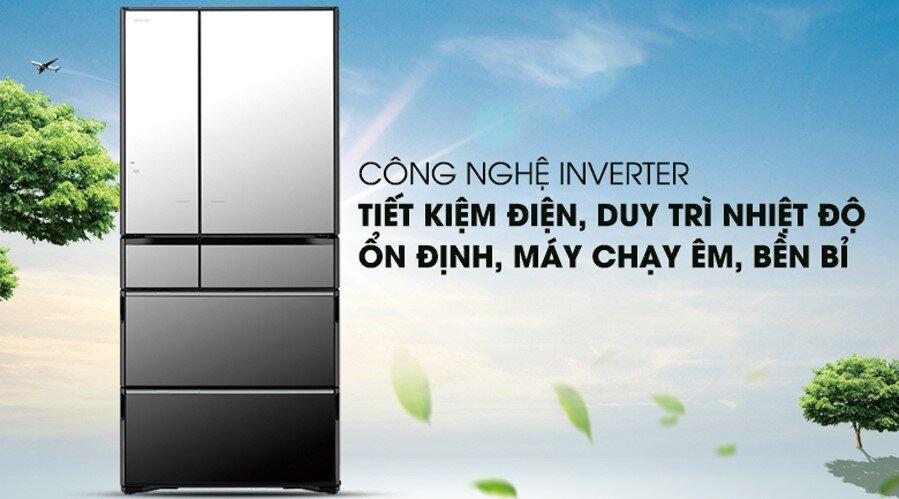 Tủ lạnh Hitachi R-G520GV