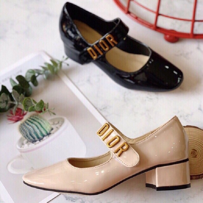 giày búp bê đế cao