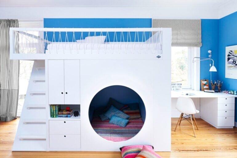 Giường tầng cho phòng ngủ bé trai