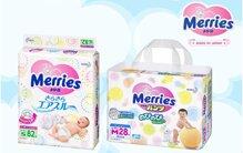 Tã bỉm Merries và năm điều tuyệt vời tạo nên thương hiệu yêu thích cho bé