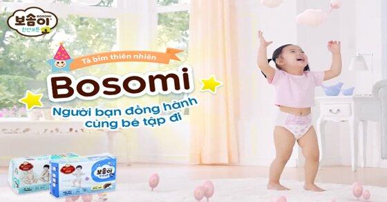 Tã dán Hàn Quốc Bosomi an toàn tuyệt đối cho bé giá có đắt không ?