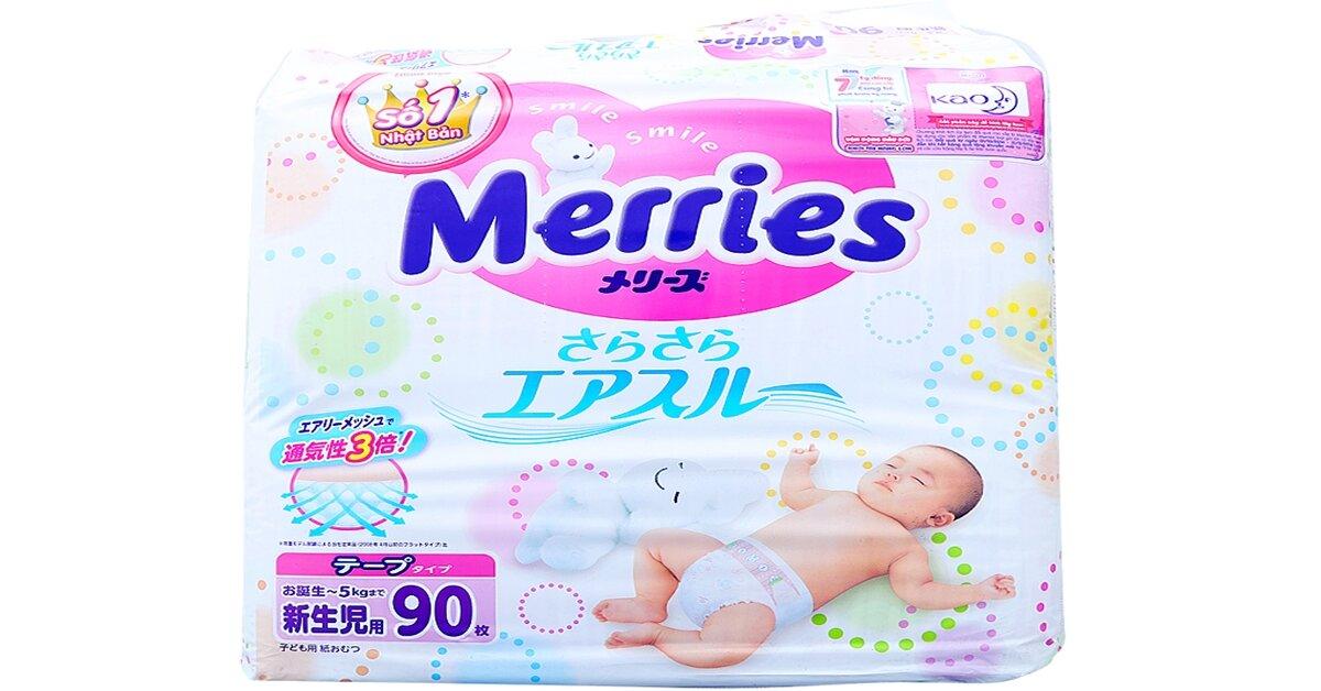Tã dán Merries giá tăng hay giảm trong tháng 6/2018 ?