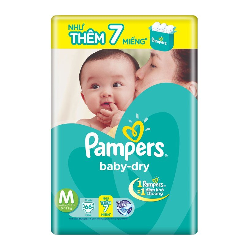 Tã dán Pampers chính hãng giá bao nhiêu tiền ?