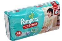 Tã quần Pampers XL48 thấm hút đến 6 lần bé tè