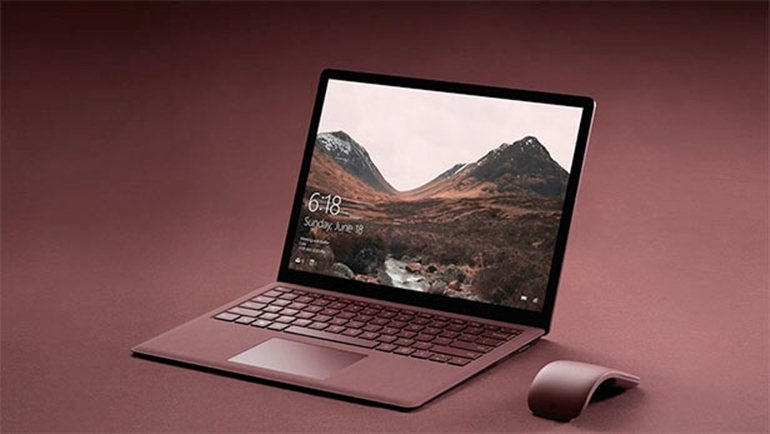 laptop surface