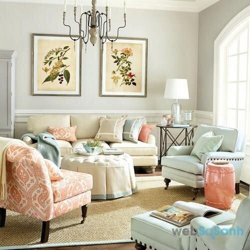 Tác động của màu sắc trong trang trí nội thất ngôi nhà