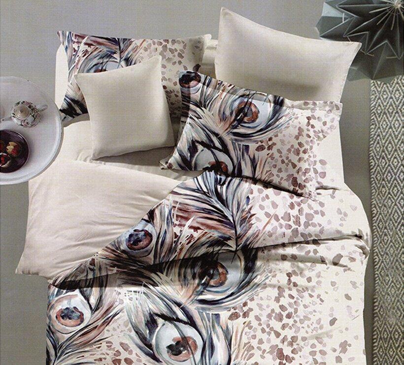 Bộ drap trải giường toát lên sự tinh tế đến từng chi tiết rất phù hợp cho căn phòng ngủ của bạn