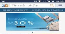 Tải ngay ứng dụng Online Friday 2017 App để quét mã trúng giải mua hàng giá trị lớn