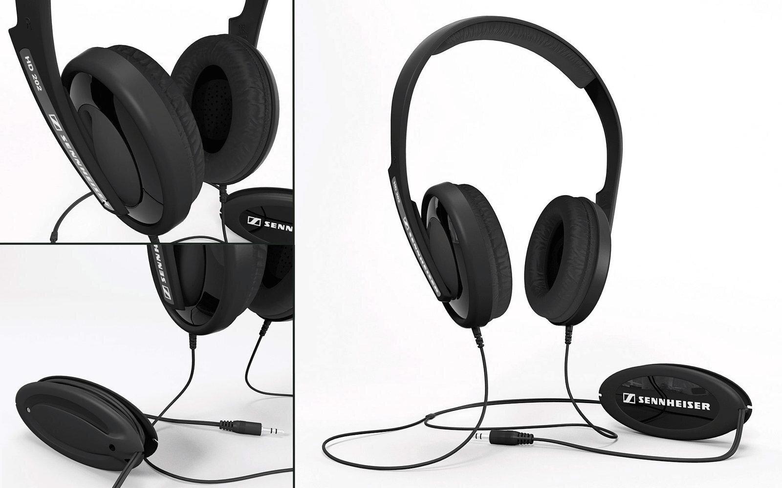 Tai nghe Sennheiser HD 202 II: Thưởng thức âm thanh tuyệt đỉnh