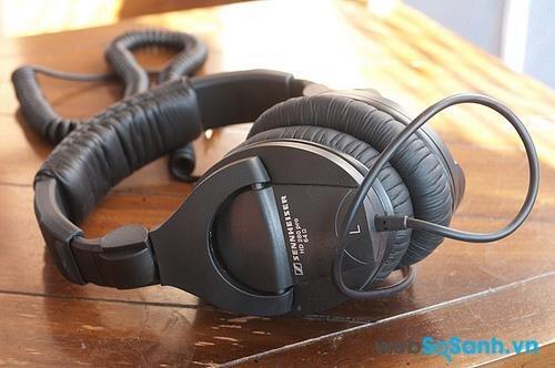 Tai nghe Sennheiser HD 280 Pro: tai nghe phòng thu giá rẻ