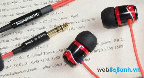 Tai nghe SoundMagic E10 – tai nghe chất trong tầm giá