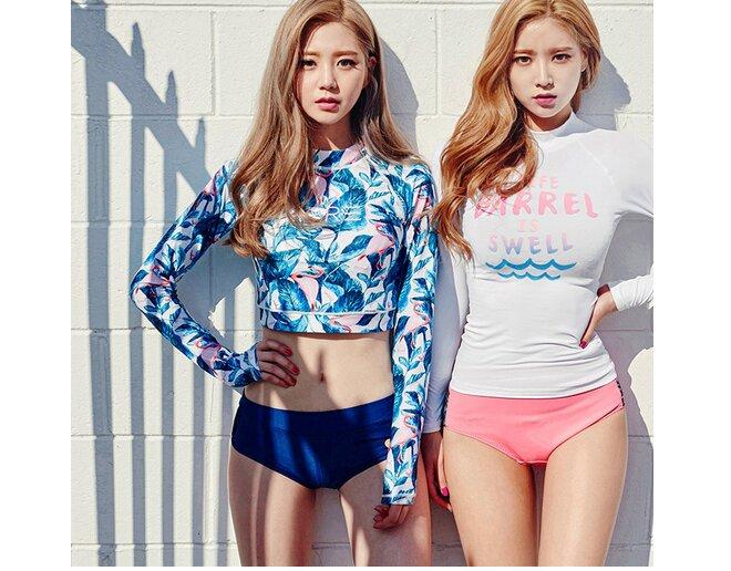 Tại sao bạn nên sắm ngay một bộ áo bơi dài tay Hàn Quốc đang siêu hot mùa hè này?