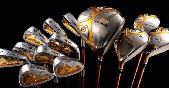 Tại sao gậy golf Honma 5 sao được cả thế giới tin dùng?