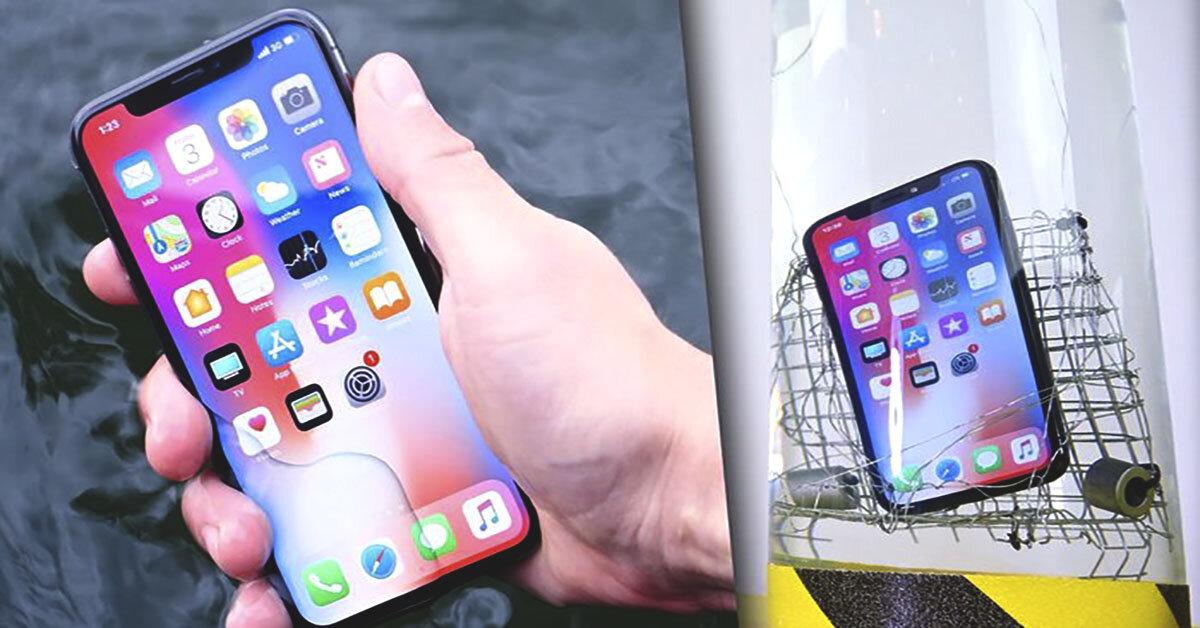 Tại sao iPhone X ngâm nước không chết ?