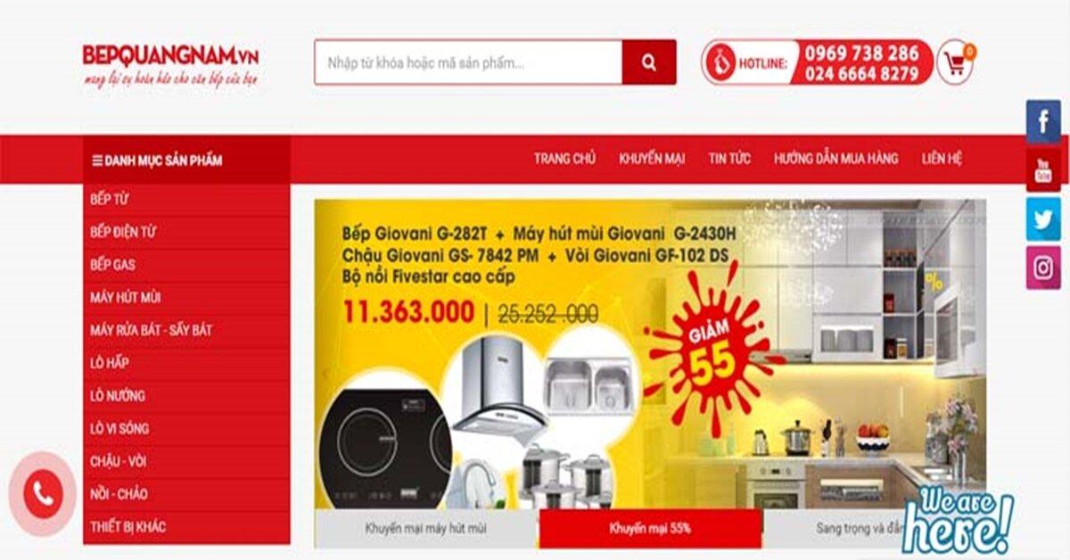 Tại sao nên chọn mua thiết bị nhà bếp tại nơi bán uy tín như Bếp Quang Nam?