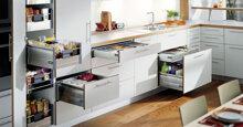 Tại sao phụ kiện tủ bếp thông minh lại được sử dụng nhiều trong thiết kế bếp ngày nay?