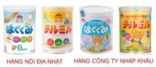 Tại sao sữa bột Morinaga nhập khẩu lại có mùi tanh hơn sữa bột Morinaga nội địa?