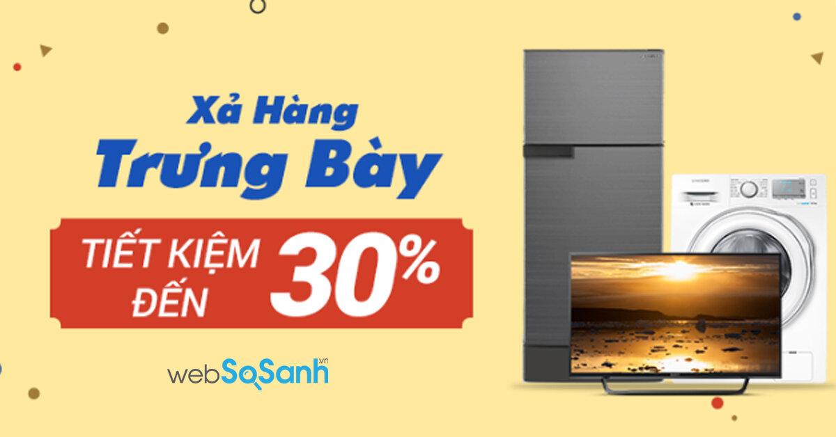 Tại sao tủ lạnh điện máy xanh xả hàng trưng bày : Sharp, Samsung và Panasonic vẫn là lựa chọn hàng đầu của người tiêu dùng ?