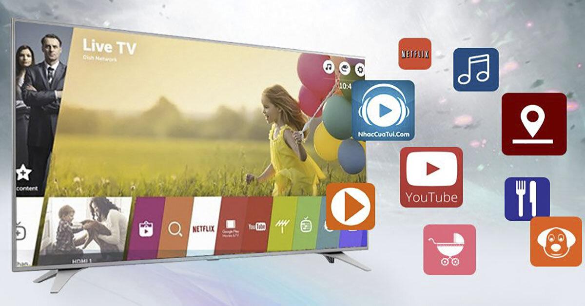 Tầm giá 10 triệu đồng nên mua smart tivi LG nào cho thiết kế màn hình mỏng sang trọng