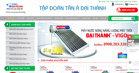 Tân Á Đại Thành chuyên cung ứng bồn nước inox, bồn nhựa, máy nước nóng năng lượng mặt trời giá tốt nhất thị trường hiện nay