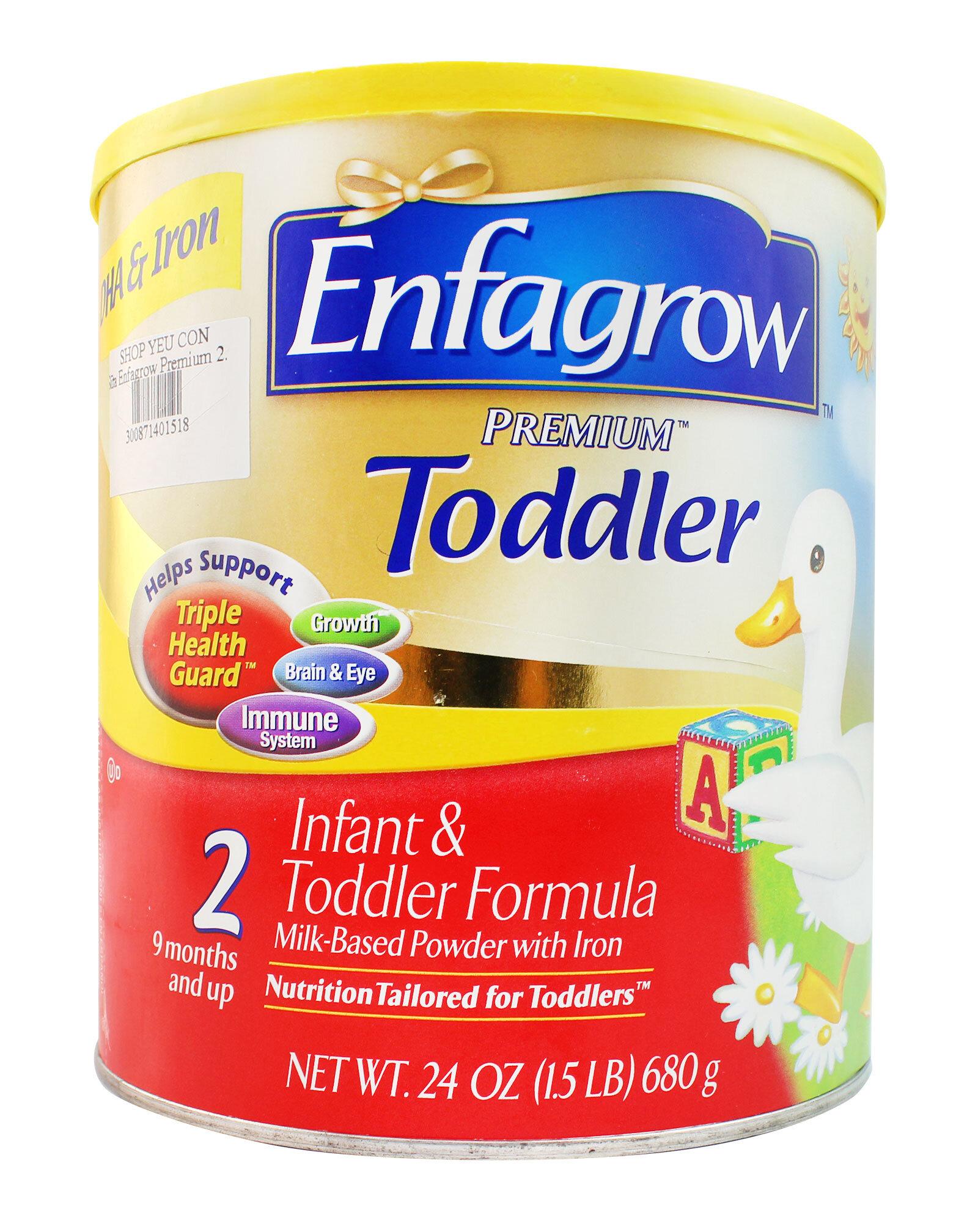 Tăng cường hệ miễn dịch với Enfagrow Premium Todder  2
