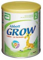 Tăng sức đề kháng cho bé cùng Sữa bột Abbott Grow 2 – 900g