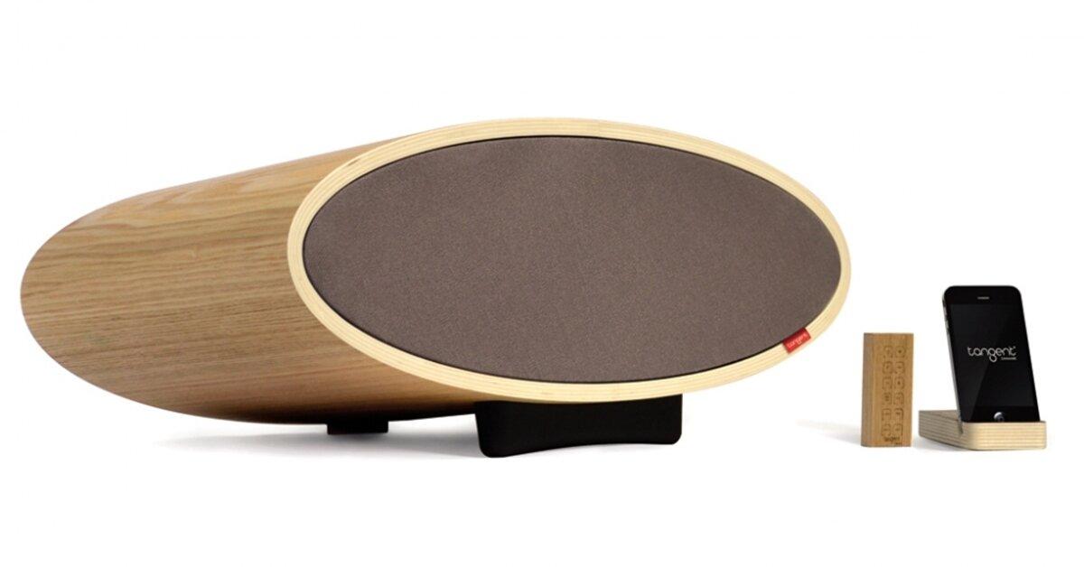 Tangent Classic BT: Loa bluetooth đẳng cấp, sang trọng với thiết kế làm từ gỗ