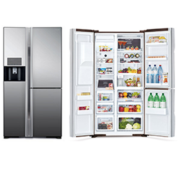 Tạo đẳng cấp cho căn phòng của bạn với Tủ lạnh Hitachi R-M700PGV2
