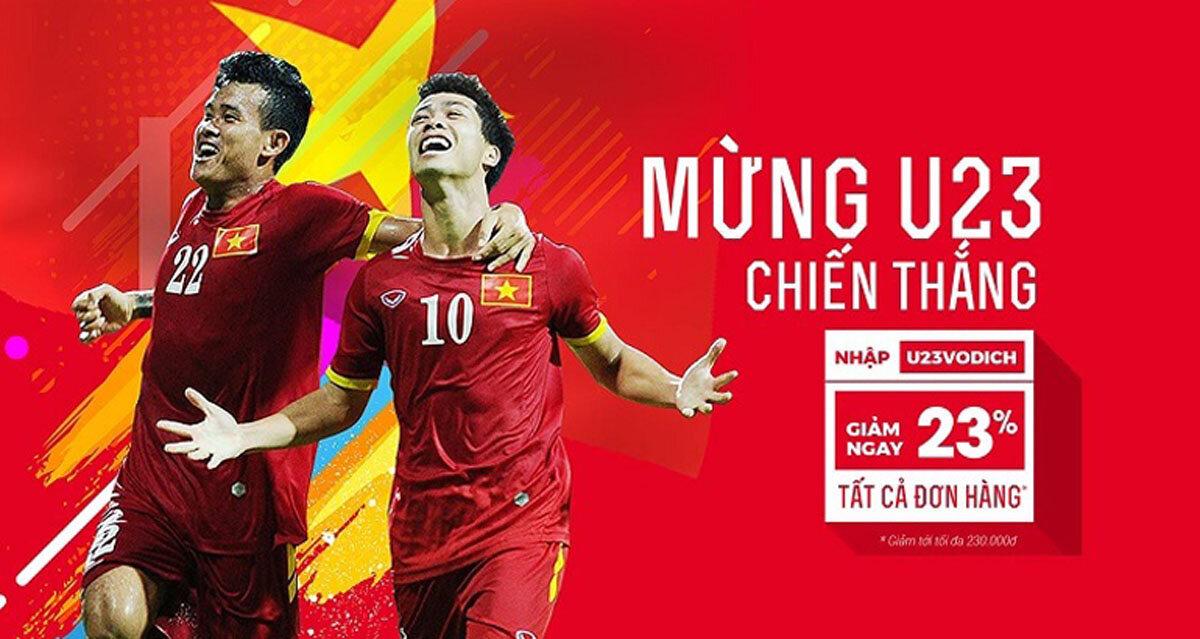 Tất tần tật các khuyến mãi KHỦNG mừng chiến thắng của U23 Việt Nam