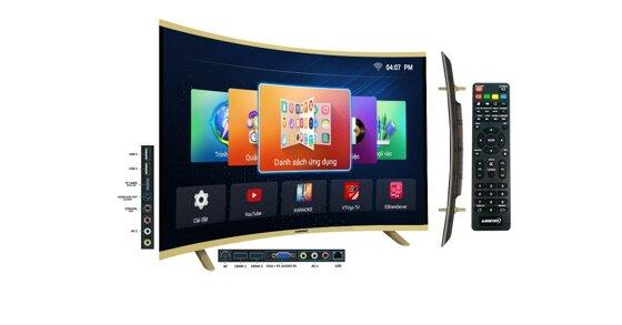Tất tần tật các loại tivi màn hình cong Asanzo trên thị trường hiện nay và giá bán của chúng