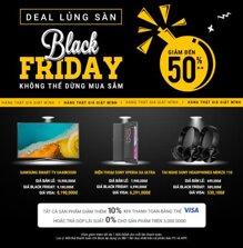 Tất tần tật chương trình khuyến mãi, siêu giảm giá ngày Black Friday 2016 ở Việt Nam