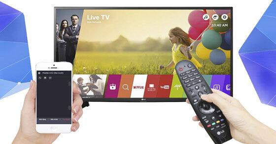 Tất tần tật những phần mềm điều khiển tivi bằng smartphone