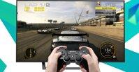 Tay cầm chơi game nào tương thích với Smart Tivi Sony 43 inch KDL 43W800C?