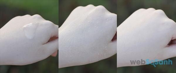 Tẩy da chết dạng gel có những loại nào?