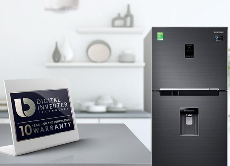 tủ lạnh Samsung RT35K5982BS/SV với gammàu nâu hiện đại