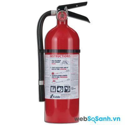 Bình chữa cháy mini Kidde là một trong những thương hiệu bình chữa cháy chất lượng cao trên thị trường