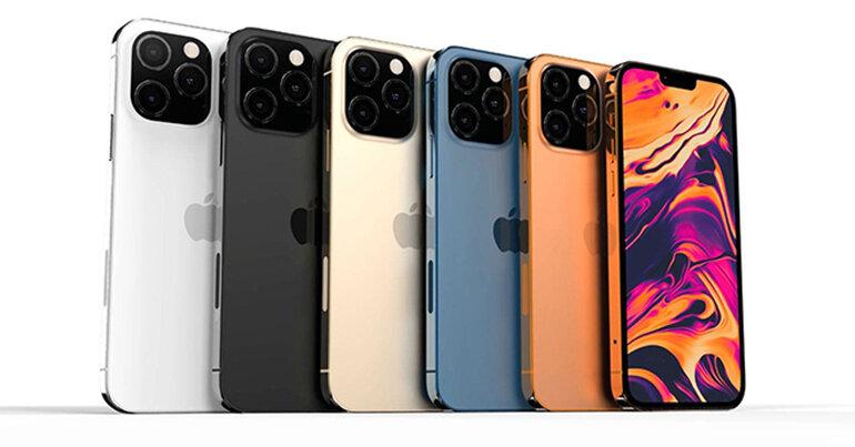 iphone 13 pro max có những màu gì
