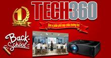 Tech360 chuyên phân phối máy chiếu trường học chính hãng, chất lượng, giá rẻ nhất hiện nay