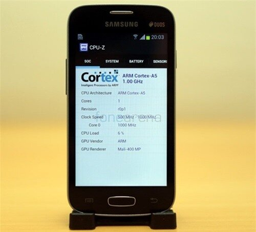Test sức mạnh smartphone giá rẻ của Samsung