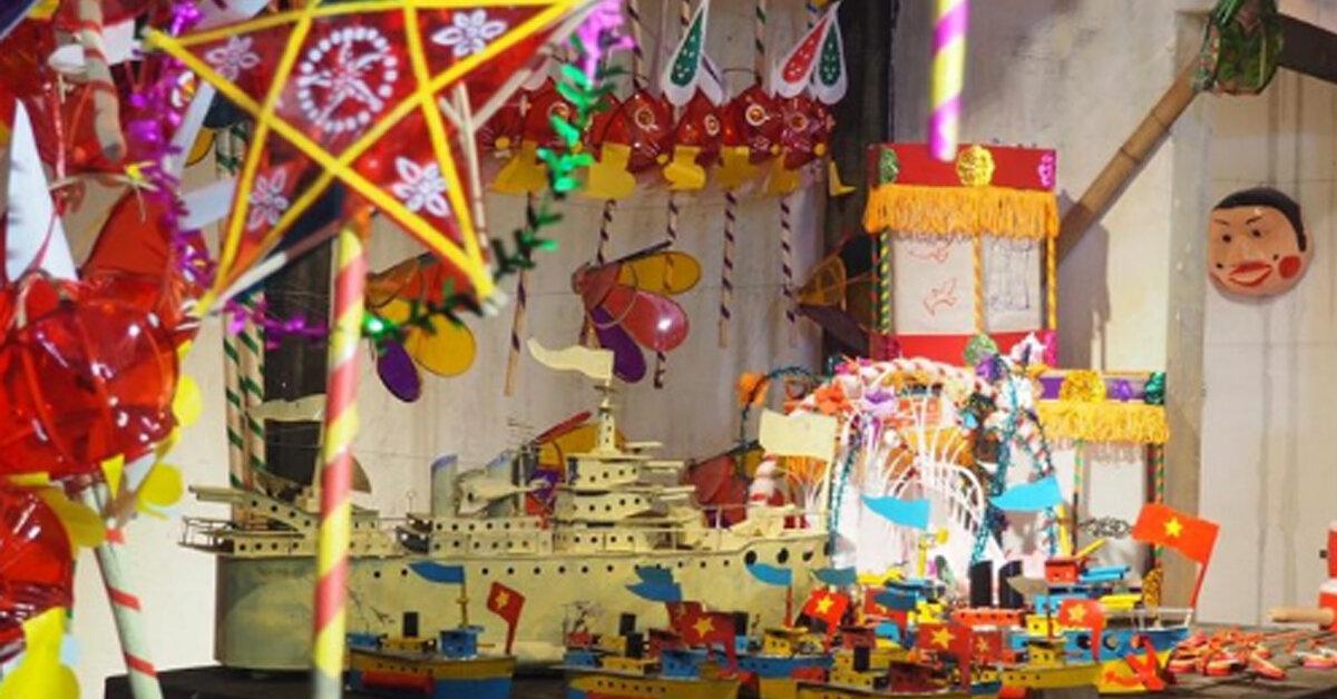 Tết Trung Thu – Tặng bé quà trung thu truyền thống hay hiện đại ?