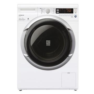 Máy giặt lồng ngang Hitachi BD-W85TSP 8.5kg (Trắng)