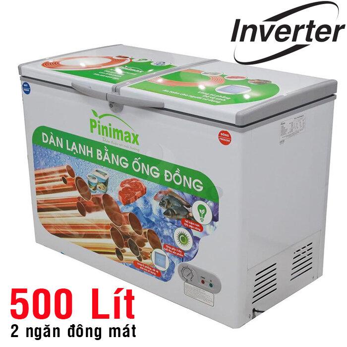 Sản phẩm tủ đông Pinimax áp dụng công nghệ dàn lạnh bằng nhôm